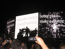 Madonna concert Stock Photos