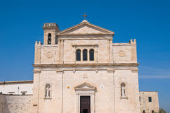 Madonna dei Martiri Church. Molfetta. Puglia. Italy. Royalty Free Stock Photos