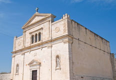 Madonna dei Martiri Church. Molfetta. Puglia. Italy. Royalty Free Stock Photo