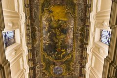 Madonna del Carmine church in Sorrento campania, Italy Royalty Free Stock Photography