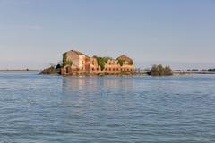 Madonna del Monte island in Venice lagoon, Italy. Stock Image
