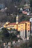 Madonna del Sasso, Locarno Stock Photo