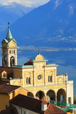 Madonna del Sasso, Switzerland Stock Photo
