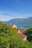 Madonna del Sasso,Ticino,Switzerland Stock Photography