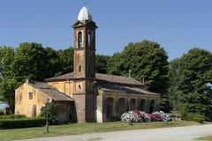 Madonna del Viri Veri, santuario vicino a Vercelli, Italia immagine stock libera da diritti