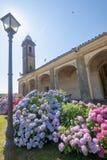 Madonna del Viri Veri, santuario vicino a Vercelli, Italia fotografie stock