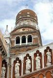 Madonna dell'Ortokyrka i Venedig Italien royaltyfri bild