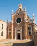 Madonna dell Orto Church. Royalty Free Stock Photos