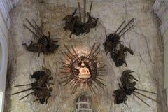 Madonna della Corona Sanctuary Stock Photos