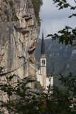 Madonna della Corona Sanctuary Royalty Free Stock Images