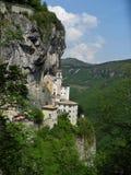 Madonna della Corona Sanctuary Stock Image