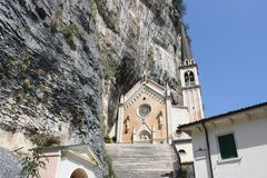 Madonna della Corona Sanctuary Royalty Free Stock Photos