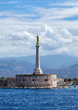 Madonna-della Lettera, Sicilië, Italië Royalty-vrije Stock Foto's