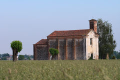 Madonna della Neve in Suno, Italy Royalty Free Stock Photo