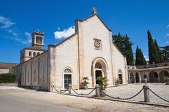 Madonna della Scala Abbey. Noci. Puglia. Italy. Royalty Free Stock Images
