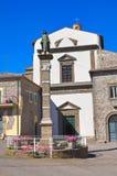Madonna delle Grazie Sanctuary. Montefiascone. Lazio. Italy. Royalty Free Stock Images