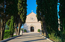 Madonna delle Rose Convent. Assisi. Umbria. Royalty Free Stock Photo