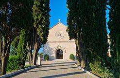 Madonna delle Rosen-Kloster. Assisi. Umbrien. Lizenzfreies Stockfoto