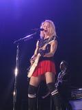 Madonna dentro del concierto vivo Imagen de archivo