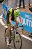 Madonna di Campiglio, Italië 24 maggio 2015; Ryder Hesjedal tijdens een stadium van Giro D'Italia Stock Foto