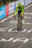 Madonna di Campiglio, Italië 24 maggio 2015; Ryder Hesjedal tijdens een stadium van Giro D'Italia Royalty-vrije Stock Afbeeldingen