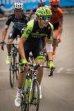 Madonna di Campiglio, Italia 24 maggio 2015; Davide Formolo during a stage of Giro D'Italia Royalty Free Stock Photo