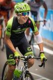 Madonna di Campiglio, Italia 24 maggio 2015; Davide Formolo during a stage of Giro D'Italia Royalty Free Stock Image