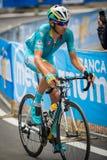 Madonna di Campiglio, Italia 24 maggio 2015; Professional cyclist during Giro D'Italia Royalty Free Stock Photography