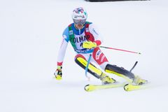 Free Madonna Di Campiglio, Italy 12/22/2018. 3rd Men`s Slalom. Daniel Yule Of Switzerland During The Special Slalom Of Ski World Cup. Stock Images - 137385174