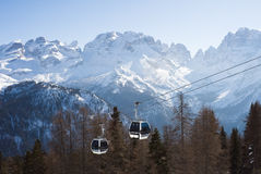 Madonna di Campiglio. Italy Stock Photos