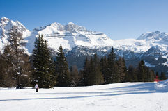 Madonna di Campiglio. Italy Royalty Free Stock Image