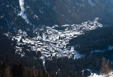 Madonna di Campiglio. Italy Royalty Free Stock Images
