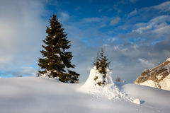 Madonna di Campiglio Ski Resort, Italian Alps Stock Photography