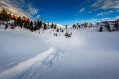 Madonna di Campiglio Ski Resort in Italian Alps Stock Images