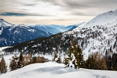 Madonna di Campiglio Ski Resort, Italian Alps Stock Photos