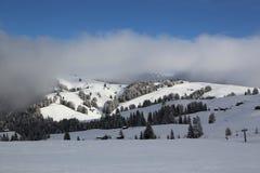 Madonna di Campiglio Ski Resort in Italian Alps Stock Photos
