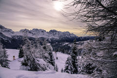 Madonna di Campiglio Royalty Free Stock Photo