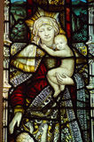 Madonna e bambino Immagini Stock