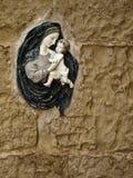 Madonna e bambino Immagine Stock