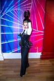 Madonna, el cantante, en museo de la cera de señora Tussauds en Londres fotos de archivo