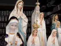 Madonna figures - Mariazell Royalty Free Stock Photography