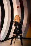Madonna il cantante Fotografia Stock Libera da Diritti
