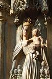Madonna with Jesus royalty free stock image