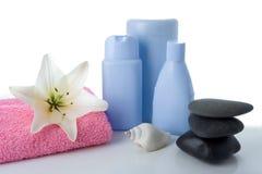 Madonna Lily Stone Cosmetics Stock Image