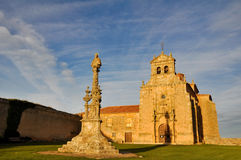 Madonna of Miron hermitage, Soria, Spain Royalty Free Stock Image
