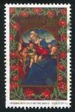 Madonna mit Kind Stockbild