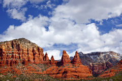 Madonna Nuns Canyon Sedona Arizona Stock Image