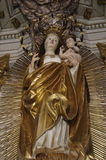 Madonna od Sumuleu kościół Obrazy Royalty Free