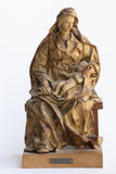 Madonna papier mache statue Stock Image