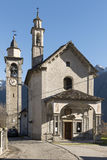 Madonna Sanctuary, Crodo, Ossola Royalty Free Stock Photos